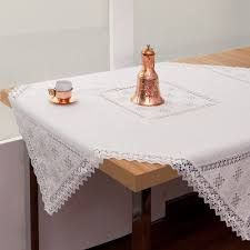 Oblong Table Cloth White Oblong Tablecloth Urban Folk