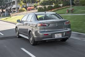 mitsubishi street racing cars 2017 mitsubishi lancer 2 4 awd first test review