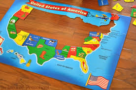 usa map puzzle for toddlers masterpieces explorer usa map 60 puzzle us map