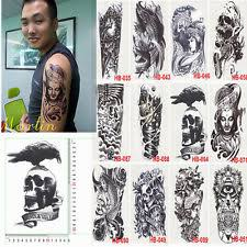 temporary tattoo body waterproof art stickers removable fashion