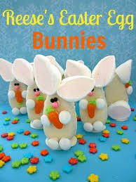 reese s easter bunny reese s easter egg bunnies sweet simple stuff