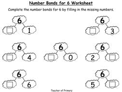 number bonds the story of 6 animated powerpoint presentation