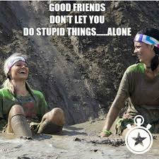 Mud Run Meme - running alone funny testosterone pilule