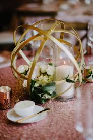 Decoration Tables by 25 Best Gold Centerpieces Ideas On Pinterest Glitter