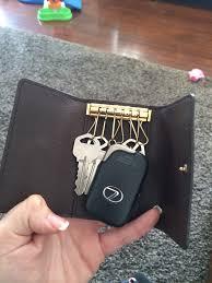 lexus wallet key card key holder for smart keys purseforum