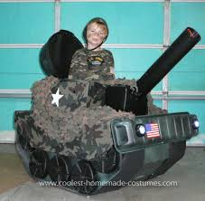 Military Halloween Costumes Kids Coolest Army Tank Costume Army Costumes Halloween Costumes
