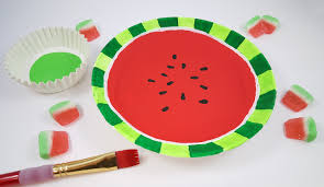 watermelon emoji watermelon craft activity for summer s u0026s blog