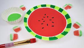 watermelon craft activity for summer s u0026s blog