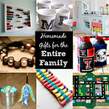 diy gift ideas for the entire family 30 ideas for
