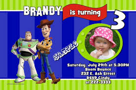 toy story stripes birthday invitations all colors all characters