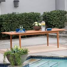 Pensacola Patio Furniture by Belham Living Brighton Extension Outdoor Dining Table Natural