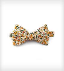 floral bowtie mustard floral bow tie men s accessories fox brie scoutmob