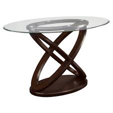 coaster furniture 104168 daphne counter height table with oval