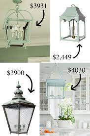 Lantern Pendant Lights Lantern Pendant Light Makeover The Lettered Cottage