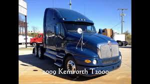 2009 kenworth truck 2009 kenworth t2000 for sale in missouri youtube