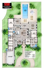 south florida designs coastal contemporary great room house plan