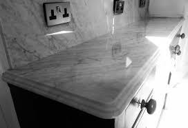 bathroom remodel carrara marble kitchen dresser and splashback
