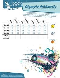 common worksheets math olympics worksheets preschool and