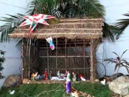 simple christmas crib decor ideas youtube