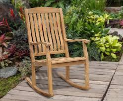 Garden Rocking Chair Uk Teak Garden Rocking Chair Outdoor Patio Rocker