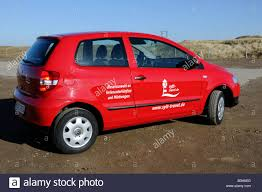 rental car westerland sylt island north frisian islands stock