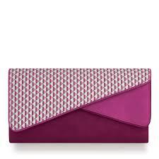 Shoo Metal ruby shoo sydney womens pink envelope clutch bag with detachable