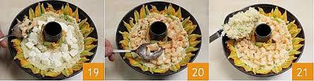 ricette con fiori di zucchina al forno ricetta anello di riso con cuore di mozzarella e gamberi la