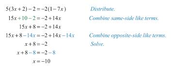 9th Grade Algebra 1 Worksheets Linear Equations Exercises Tessshebaylo