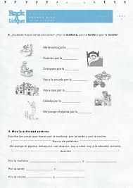 greetings and daily routines worksheet rockalingua spanish i