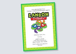 printable birthday cards with turtles printable tmnt printable birthday cards birthday