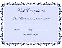 christmas gift certificate template publisher chrismast cards ideas