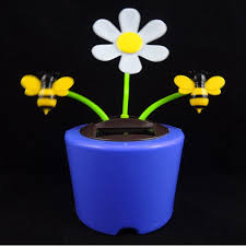 solar flowers for car china sloar car decorations manufacturer