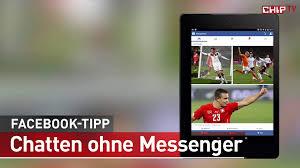 chatten ohne messenger facebook tipp deutsch chip youtube