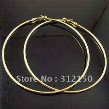 hoops earrings india free shipping 36 pairs 50 60 70mm silver plated hoop earrings