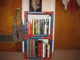 Made Bookcase A Bookshelf Made Of Encyclopedias Yay 5 Steps With Pictures