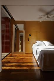 modern melbourne house with a japanese maple at its heart view in gallery sconce lighting in the bedroom