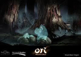 Ori And The Blind Forest The Gorgeous Art Behind Hit Xbox One Game Ori And The Blind Forest