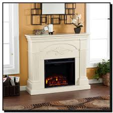 off white electric fireplace ecormin com
