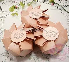 wedding favor boxes wholesale high quality light pink wedding favor box candy sweet bags boxes