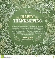 free thanksgiving background vector chalk thanksgiving background stock vector image 78104795