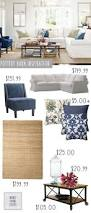 Pottery Barn Living Rooms by 131 Best Pottery Barn Images On Pinterest Christmas Crafts