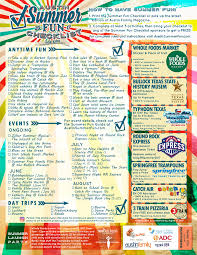 2017 austin summer fun checklist for kids 365 things to do in