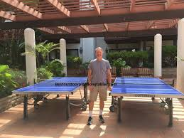 cornilleau ping pong table cornilleau 500m outdoor ping pong table review youtube