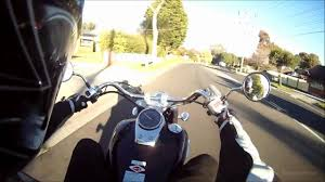 honda vt400 shadow ride youtube