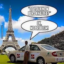 Taxi Driver Meme - when you tell the dubai taxi driver where to go image dubai