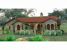 spanish style home plans small spanish style homes plans lovely home plan homepw 1749