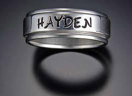 name rings vickerman name rings personalized carved name rings
