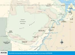 Grand Canyon Maps Printable Travel Maps Of Arizona Moon Travel Guides