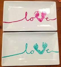 baby handprint footprint crafts on footprint thumb