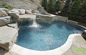 Landscaping Ideas For A Sloped Backyard by Backyard Pool Landscaping Ideas Pool Design And Pool Ideas